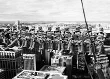 Troopers' atop a Skyscraper